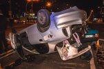 В Киеве пьяный водитель Lanos устроил массовое ДТП с пострадавшими - фото 1