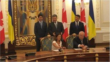 Степан Кубив и Христя Фриланд подписали исторический для Украины документ. - фото 1