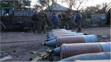 Боевики размещают боеприпасы, РСЗО и артиллерию в жилых дворах. - фото 1