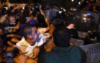 В результате противостояния 50 человек задержано - фото 1