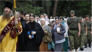 Крестный ход УПЦ МП не хотят пускать в Киев. - фото 1