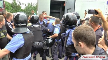 В Кривое Озеро переводились полицейские из других городов - фото 1