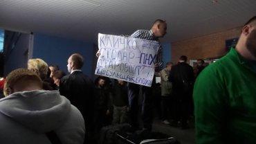 Жители Оболони высказались категорически против строительства торгового центра - фото 1