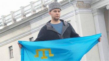 В Киеве проходит акция поддержки крымских татар  - фото 1