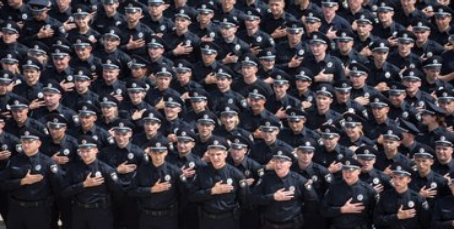 На службе в Нацполиции находятся 109 628 человек - фото 1