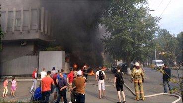Пожар на телеканале случился в начале сентября - фото 1