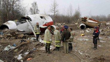 В Польше воссоздали последние секунды полета президентского Ту-154 - фото 1