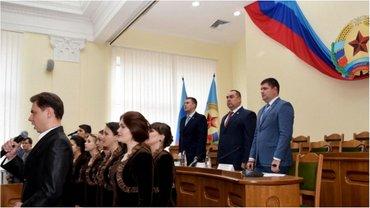 "Торжества главаря ""ЛНР"" - фото 1"