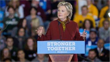 Клинтон пока что не отреагировала на предложение - фото 1