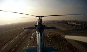 Новейший украинский высокоскоростной вертолет успешно выступил на международном авиашоу - фото 1