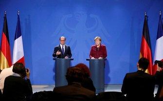 Меркель и Олланд еще до встречи заявили о необходимости продления санкций - фото 1