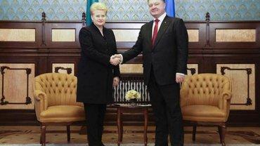 Грибаускайте пообещала помочь Украине в борьбе с коррупцией - фото 1