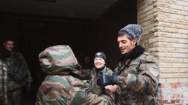 Боевик Гиви получил ранение - фото 1