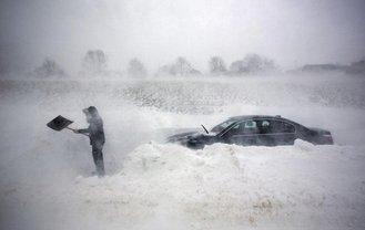 Пробок из-за непогоды на украинских дорогах не обнаружено - фото 1