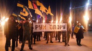 В шествии поучаствовали также активисты из других городов - фото 1