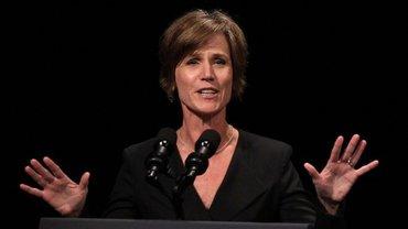 Салли Йейтс занимала должность генпрокурора при президенте Обаме,  - фото 1
