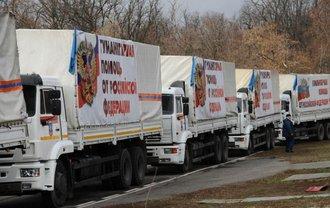 Грузовики последуют в Донецкую и Луганскую области  - фото 1