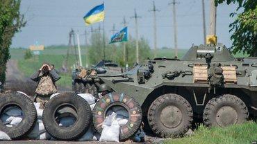 Украинские военные не пропускают волонтеров в зону АТО - фото 1