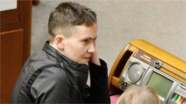 В прошлом году Савченко стала внефракционным депутатом - фото 1