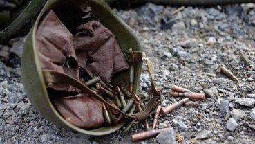После боя бойцы ВСУ обнаружили тело боевика - фото 1