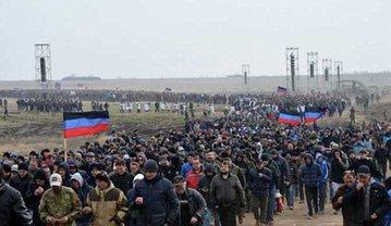 """Боевики """"ДНР"""" начали призыв населения - фото 1"""