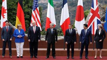 Лидеры стран встретились в рамках G7 - фото 1