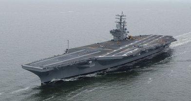 У берегов Японского моря находятся уже два американских авианосца - фото 1