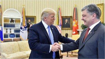 Порошенко и Трамп хотят вместе давить на Россию - фото 1