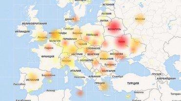 Наибольшие проблемы - у пользователей из Киева и Минска - фото 1