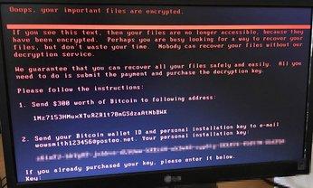 Хакерская атака в Украине - вирус Petya.A - фото 1