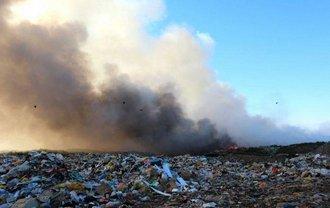 Пожар ликвидирован двумя группами спасателей - фото 1