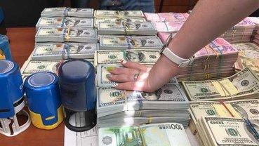 У преступников изъяли 400 тысяч долларов и немалую сумму в гривнах - фото 1