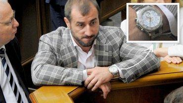 У соратника Ляшко Рыбалки часы Rolex более чем за миллион гривен - фото 1