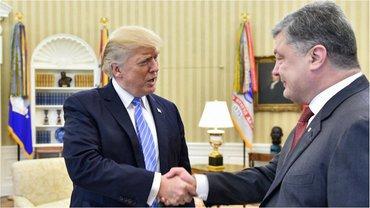 Фото встречи Порошенко и Трампа - фото 1