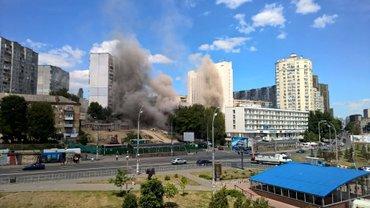 В центре Киева произошел взрыв в жилом доме - фото 1