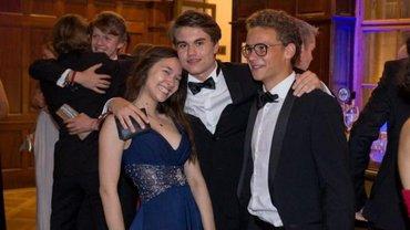 Северин Омелян посетил бал в честь окончания учебного года - фото 1