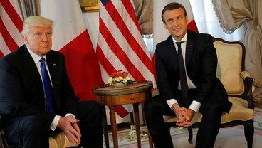 Макрон и Трамп наладили связь - фото 1