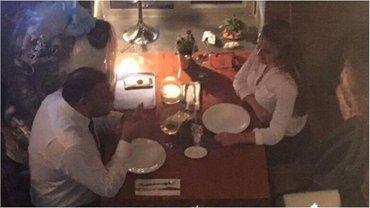 Добкин и Крюкова в киевском ресторане  - фото 1