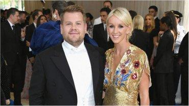Джеймс Корден и его жена Джулия - фото 1