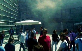 """В Москве горит штаб-квартира """"Яндекса"""" - фото 1"""