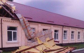 В Черкасской области пронесся ураган - фото 1