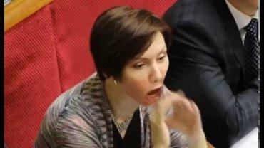 Константиновский назвал Бондаренко проституткой Януковича, но обещал извиниться - фото 1
