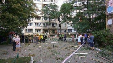 Взрыв жилого дома в Киеве - фото 1