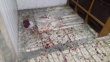 Место избиения ветеранов в райотделе полиции - фото 1