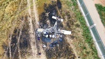 Самолет с украинским пилотом-инструктором упал в Казахстане - фото 1