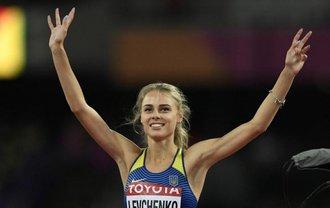 Украинка поднялась на высоту 2,01 метра в прыжках в высоту - фото 1