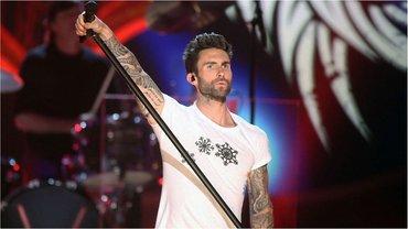 Адам Левин - солист группы Maroon 5 - фото 1