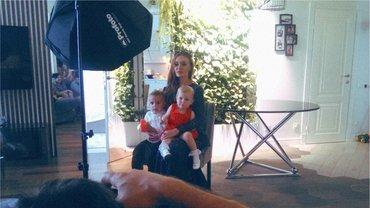 Слава Каминская с детьми - фото 1