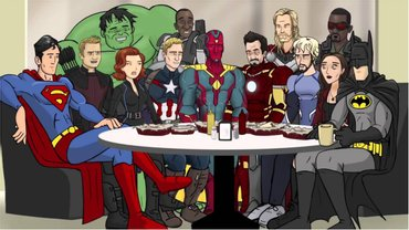 Герои комиксов Marvel и DC - фото 1