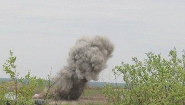 На полигоне произошел взрыв - фото 1